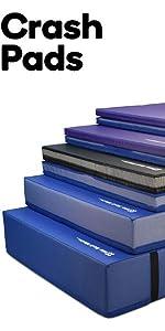 we sell mats,crash pad,landing mat,gymnastics,cheer,parkour,ninja mat