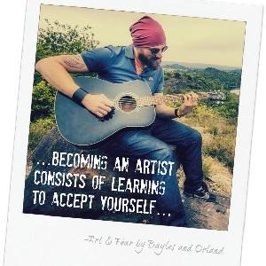 art and fear guitar artist acceptance