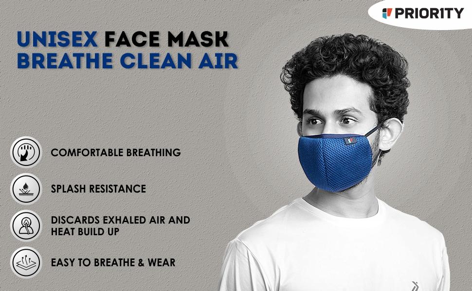 Priority Protective Mask 1 Black