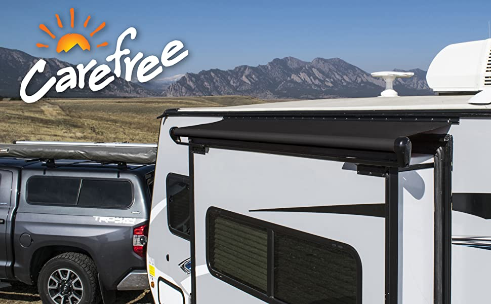 Slide out, fabric, camping, awning, rv, shade, sun, protection, rain