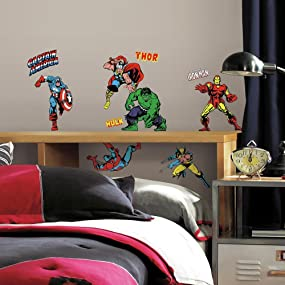 Exceptionnel Marvel Peel And Stick Wall Decals, Peel And Stick Wall Decals