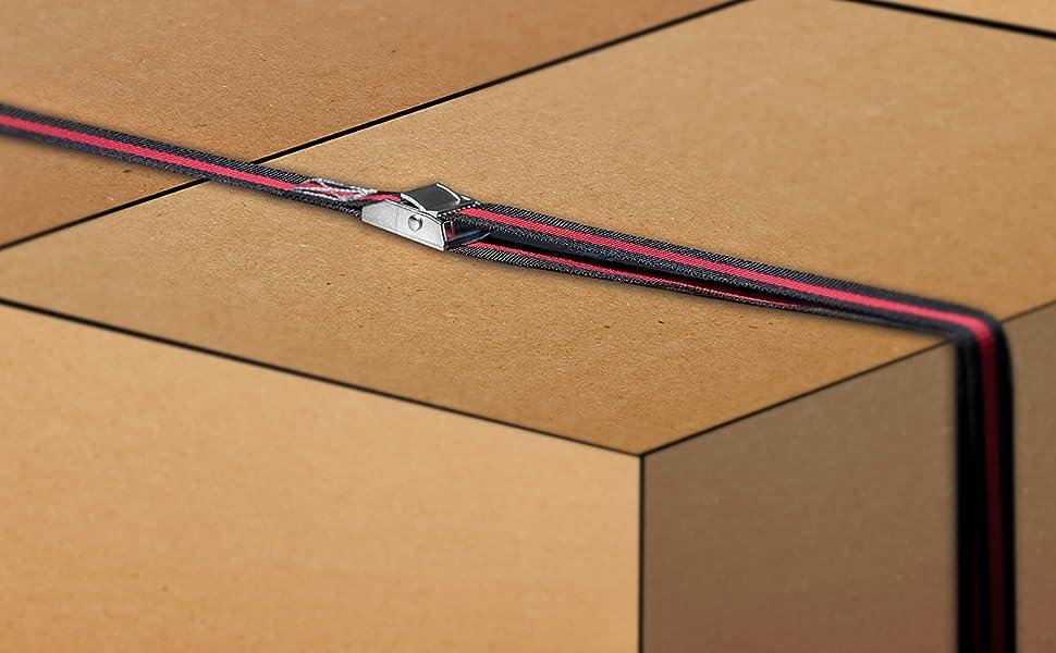 Las 10318 Spanngurt Mit Klemmverschluss Ca 1 5 M X 2 5 Cm Meter Auto