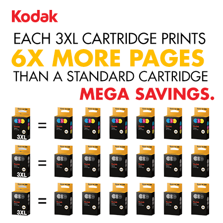Extra High Capacity 3XL Ink Cartridges In Box