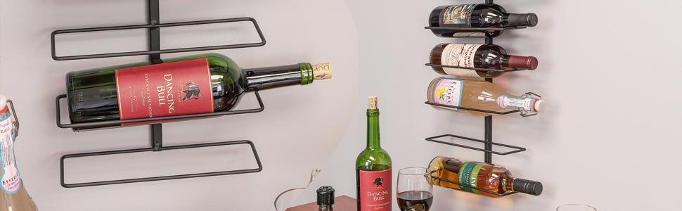 1f83742e32 Amazon.com: Southern Homewares Wall Mount Wine Bottle Storage Rack ...