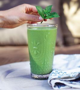 cucumber mint smoothie