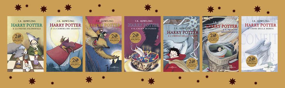 JK Rowling, Harry Potter, anniversario, 20 anni, magia, il calice di fuoco