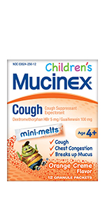 Children's Mucinex Cough (Mini-Melts)
