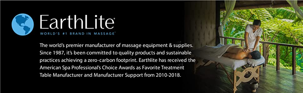 "EARTHLITE Electric Massage Table ELLORA - The Quietest, Most Popular Spa Lift Hydraulic Massage Table - Made in USA/Customer Service in the USA (28"", ..."