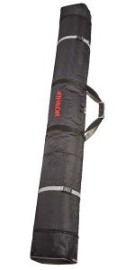 ski bag, expandable ski bag, expanding ski bag