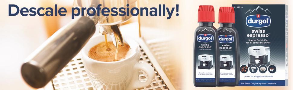 durgol swiss espresso - special descaler for all coffee machines
