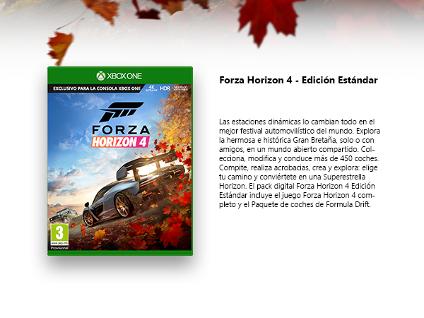 Microsoft Xbox One S - Consola 1 TB + Forza Horizon 4: Microsoft ...