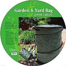 leaf bag composter mulch garden herb