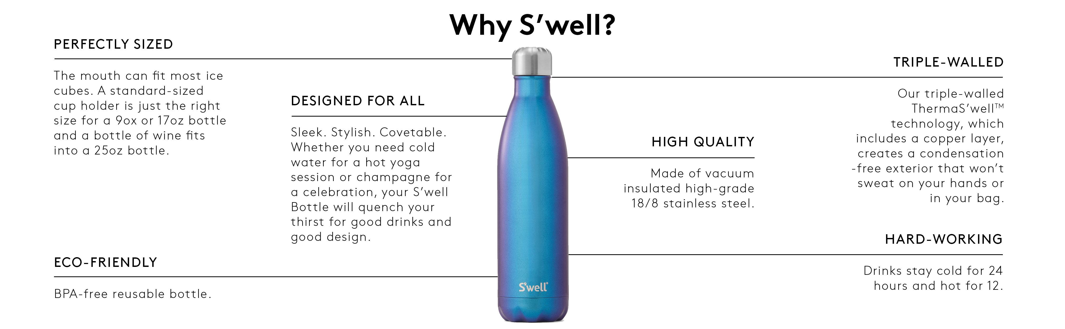 Amazon Com S Well Vacuum Insulated Stainless Steel Water