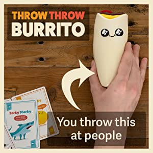 throw throw burrito, dodgeball, party game