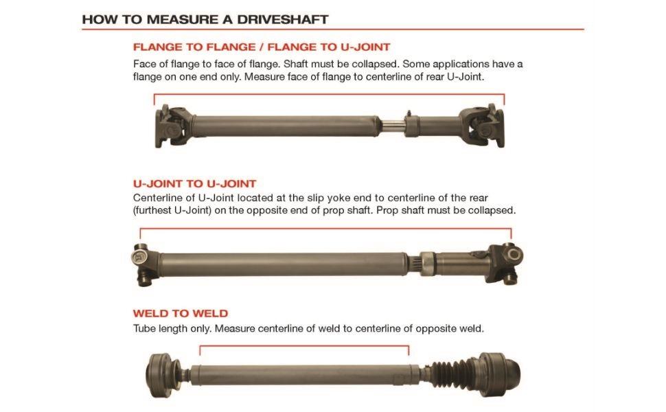USA Standard Gear ZDS100597 Rear Driveshaft FORD Fusion 2007-2012