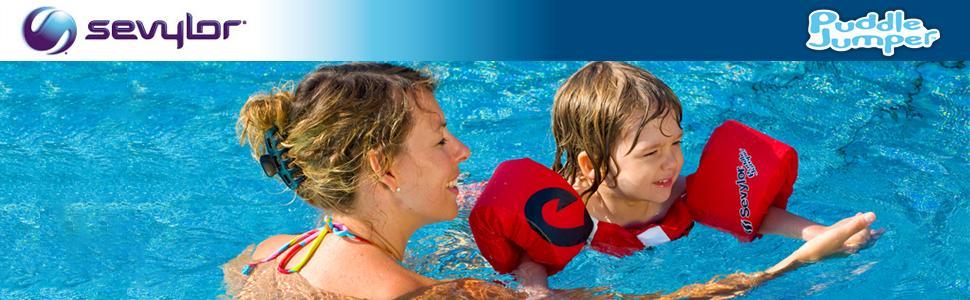 Schwimmflügel Kinder Schwimmweste Puddle Jumper Schwimmhilfe Weste Schwimmflügel Arm Bands DE