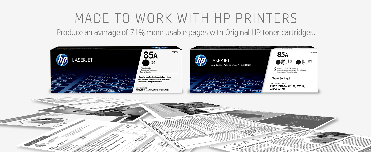 85A, 85A 2pack with spread of b/w papers