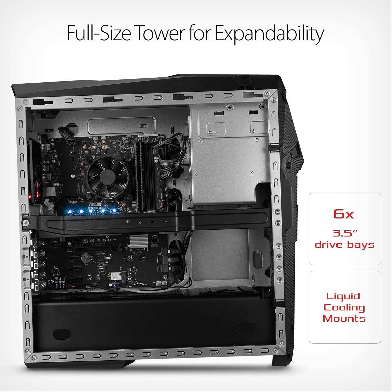 Amazon.com: ASUS ROG STRIX GD30 Gaming Desktop, NV GeForce ...