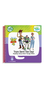 LeapFrog LeapStart Toy Story 4 Toys Save the Day Reading About How Things Work