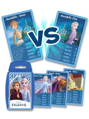 MATCH Frozen Eiskönigin Bundle Top Trumps 1 /& 2  Spiel Gesellschaftsspiel