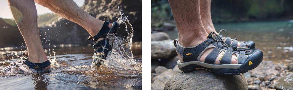 newport h2 water sandals men, keen sandals men, outdoor sandal men, trekking sandals, toe protection