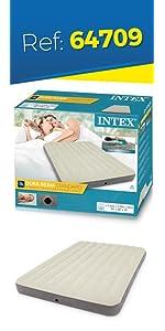 Intex 64707 - Colchon hinchable Dura-Beam Standard con ...