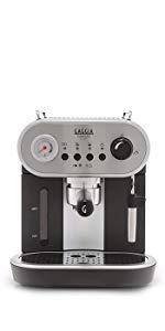 Gaggia Carezza De LUXE. Gaggia Espresso Machine, Semi-Automatic Espresso Machine