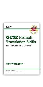 9-1 GCSE Grade 9-1 GCSE French Translation Skills Workbook