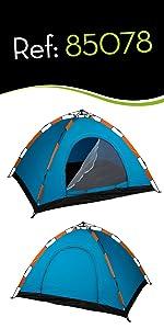 Aktive - Tienda Camping iglú para 3 personas, auto montable ...
