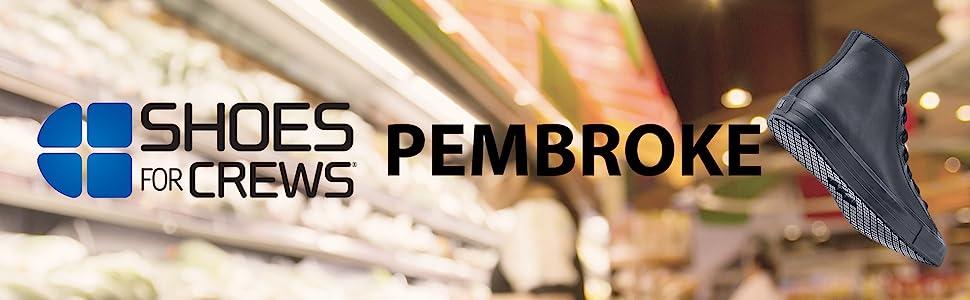 Shoes For Crews Pembroke Slip Resistant Work Shoe