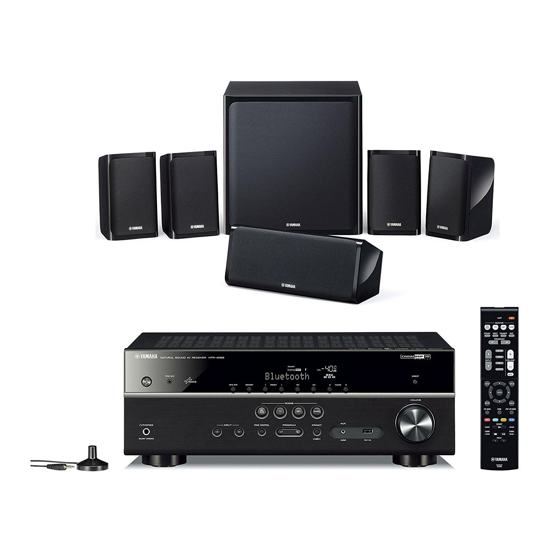 yamaha apkyht4940eubl kit home cinema 5 1 nero elettronica. Black Bedroom Furniture Sets. Home Design Ideas