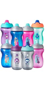 active sports cup water bottle training transition space stars astronaut unisex baby bottle toddler