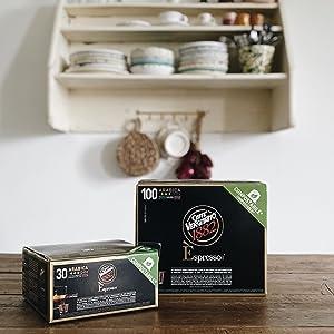 caffè vergnano capsule compostabili compatibili nespresso arabica