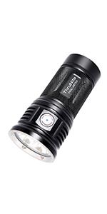 10000 high lumens powerful flashlight