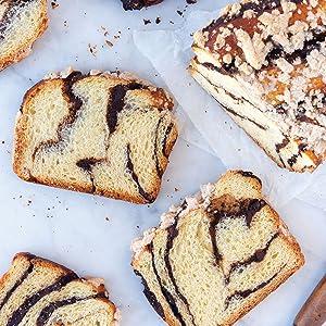 chocolate babka, desserts, baking, cookbook, king arthur baking, dessert, holiday