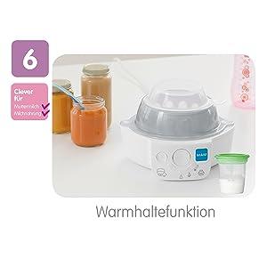 MAM 6in1 Sterilisator und Express Babykosterwärmer