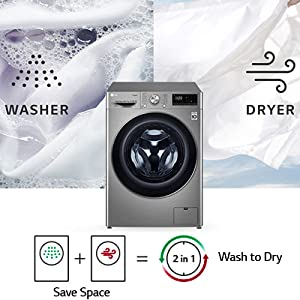 LG all in one front load washing machine