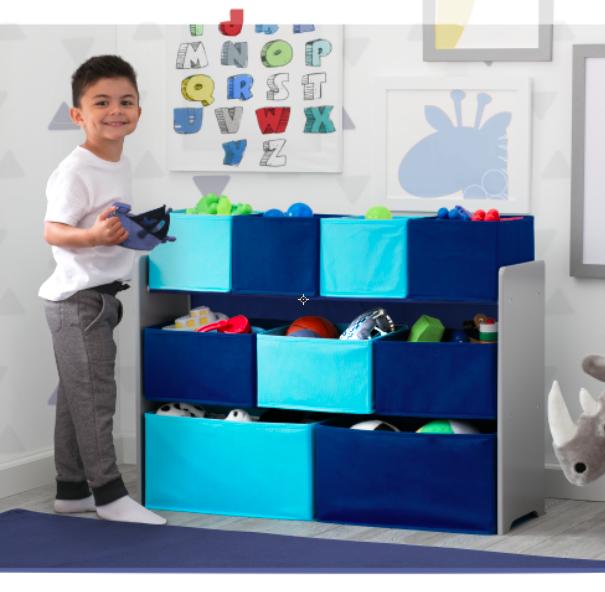 Minnie Mouse Bedroom 3 Drawer Storage Kids Wooden Box Pink: Amazon.com : Delta Children Deluxe Multi-Bin Toy Organizer
