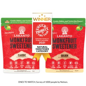 Lakanto wins product of the year in natural sweetener category