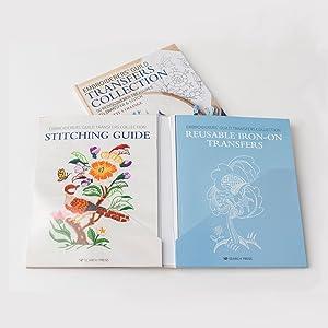 Hardback, stitch, guide, hardback, folder, ion-on, transfers, embroidery, sewing, guild, folder