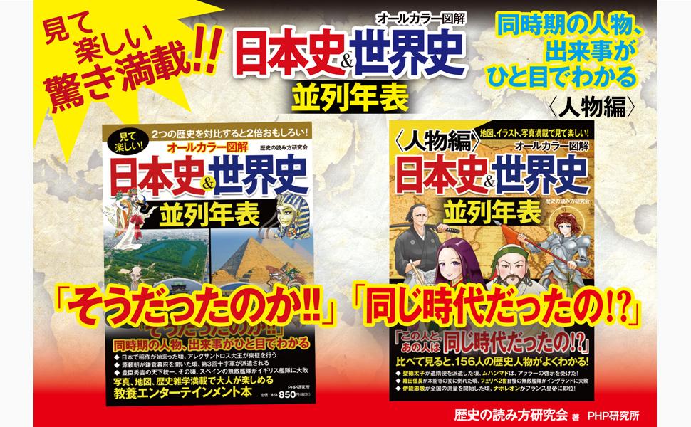 日本史 世界史 並列
