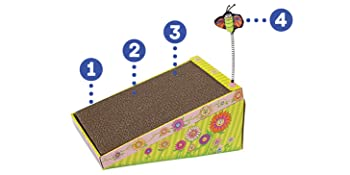 cat scratcher, cat scratcher cardboard, cat scratch pad, cat scratching cardboard, cat ramp,