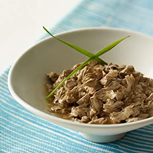 Bowl of tender, slow cooked cuts with garden greens