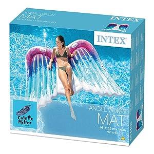 Intex, materassino, ali angelo