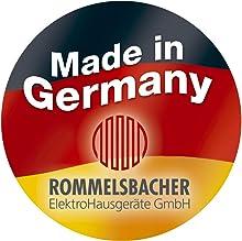 ROMMELSBACHER Made in Germany Qualitätsprodukt