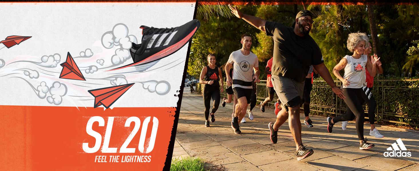adidas SL20 feel the lightness