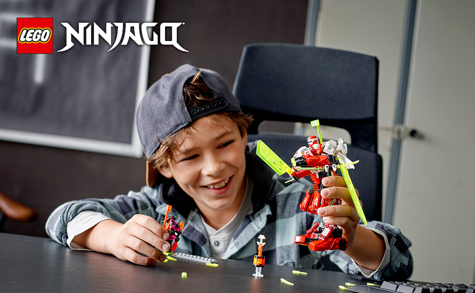 Read more about the article LEGO NINJAGO Kai's Mech Jet 71707 Toy Plane Building Kit, New 2020 (217 Pieces) (Toy)