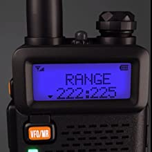 UV-5X3 scan a frequency range