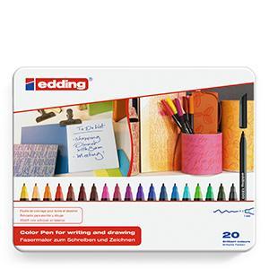 edding, 1200, rotuladores, colores, creatividad, manualidades, oficina, escolar, colegio, colorear