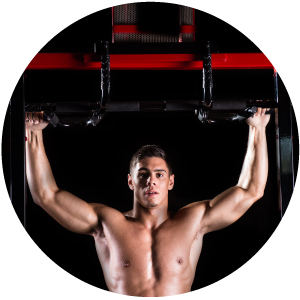 iron crossfit chin-up weight loss fit frame bar